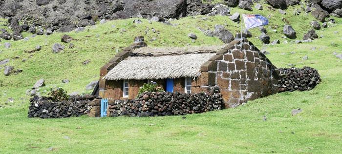 Tristan Da Cunha Thatched House Museum
